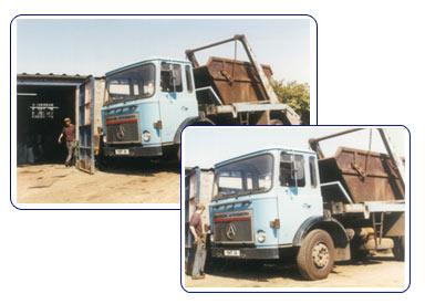 A.A. AND J.P Trickey Scrap Metal Truck